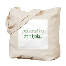 Powered By artichokes Tote Bag