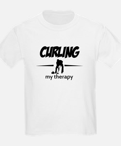 Curling my therapy T-Shirt