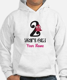 2 Years Old Baby Bird - Personalized Hoodie