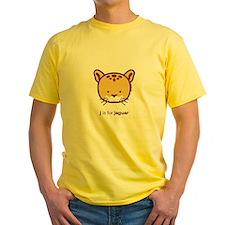 """""""J is for Jaguar"""" T-Shirt"""