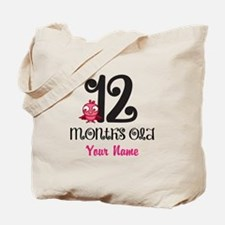 12 Months Old Baby Bird - Personalized Tote Bag