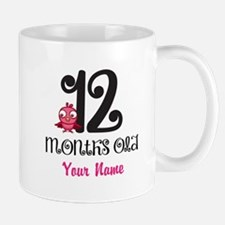 12 Months Old Baby Bird - Personalized Mug