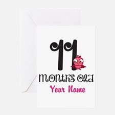 11 Months Old Baby Bird - Personalized Greeting Ca