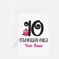 10 Months Old Baby Bird - Personalized Greeting Ca