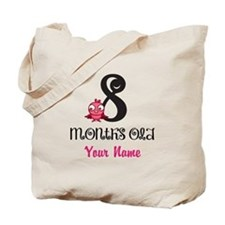8 Months Old Baby Bird - Personalized Tote Bag