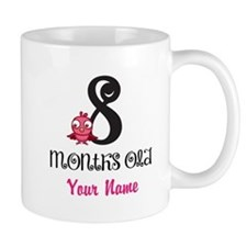 8 Months Old Baby Bird - Personalized Mug