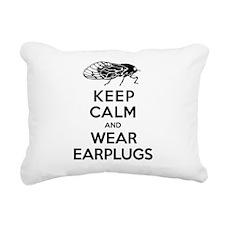 Cicadas - Keep Calm and Wear Earplugs Rectangular