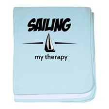 Sailing my therapy baby blanket