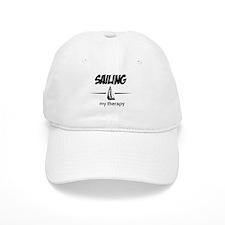 Sailing my therapy Baseball Cap