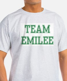 TEAM EMILEE  Ash Grey T-Shirt
