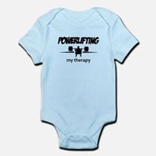 Powerlifting my therapy Infant Bodysuit