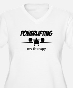 Powerlifting my therapy T-Shirt