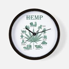 Hemp Tee Wall Clock
