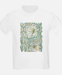William Morris Pimpernel Design T-Shirt