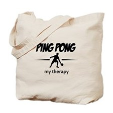 Ping Pong my therapy Tote Bag