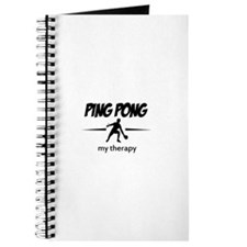Ping Pong my therapy Journal