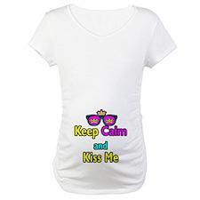 Crown Sunglasses Keep Calm And Kiss Me Shirt
