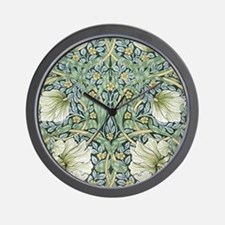 William Morris Pimpernel Design Wall Clock