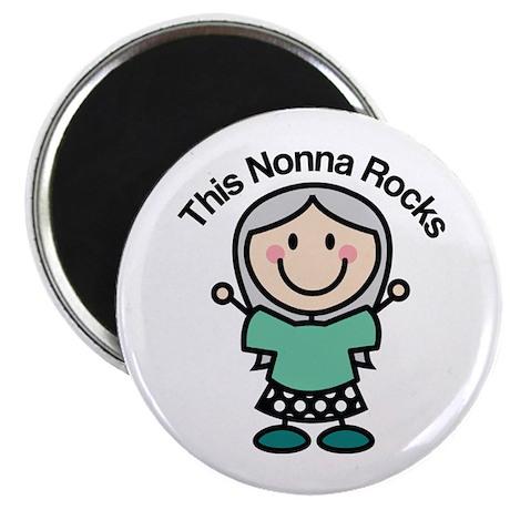 Nonna Rocks Magnet