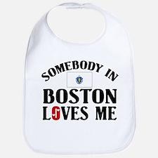 Somebody In Boston Bib