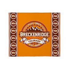 Breckenridge Tangerine Throw Blanket