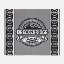 Breckenridge Grey Throw Blanket