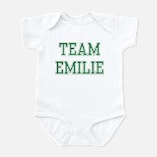 TEAM EMILIE  Infant Bodysuit