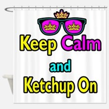 Crown Sunglasses Keep Calm And Ketchup On Shower C