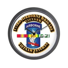 Army - 173rd Airborne Brigade w SVC Ribbons Wall C