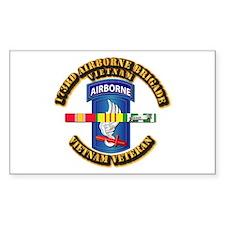 Army - 173rd Airborne Brigade w SVC Ribbons Sticke