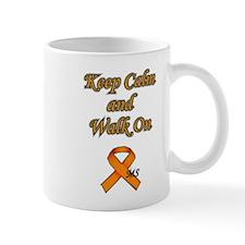 Multiple Sclerosis - Keep Calm and Walk on Mug