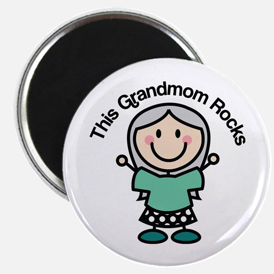 Grandmom Rocks Magnet