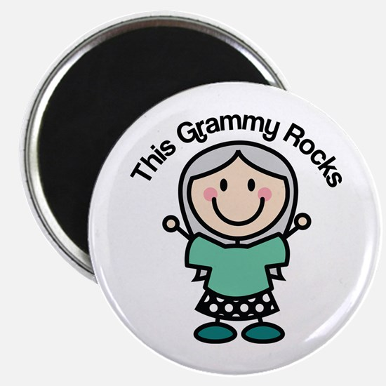 Grammy Rocks Magnet