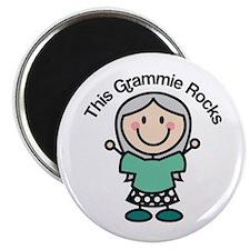 Grammie Rocks Magnet