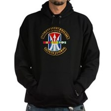 Army - 11th Infantry Bde w Svc Ribbons Hoodie