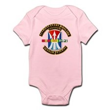 Army - 11th Infantry Bde w Svc Ribbons Infant Body