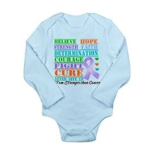General Cancer Believe Strength Body Suit