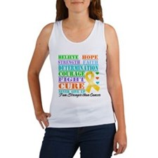 Appendix Cancer Believe Tank Top