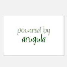 Powered By arugula Postcards (Package of 8)