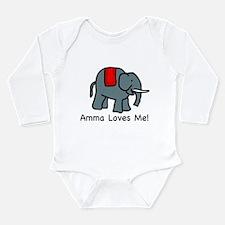 Amma Loves ME Infant Creeper Body Suit