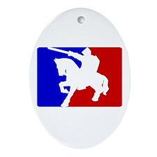 Pro Knight Oval Ornament