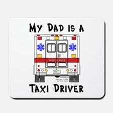 Taxi Driver Dad Mousepad