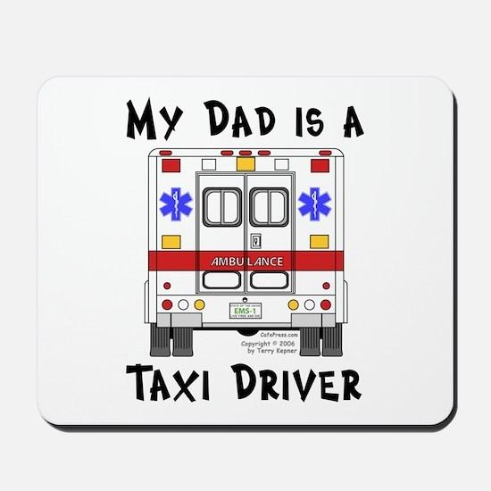 Taxi Driver Dad Mousepad