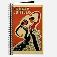 Teresa Luisillo, Dancers,Flamenco, Vintage Poster