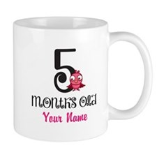 5 Months Old Baby Bird - Personalized Mug