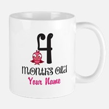 4 Months Old Baby Bird - Personalized Mug