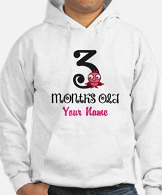 3 Months Old Baby Bird - Personalized Hoodie