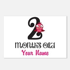 2 Months Old Baby Bird - Personalized Postcards (P