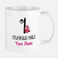 1 Month Old Baby Bird - Personalized Mug
