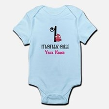 1 Month Old Baby Bird - Personalized Body Suit